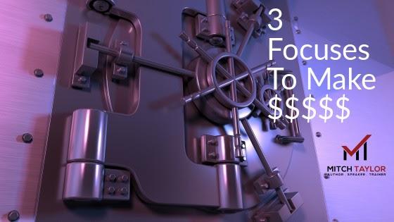 3 focuses to make thousands vs hundreds