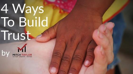 4 ways to build trust
