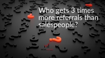who gets 3 times more referrals